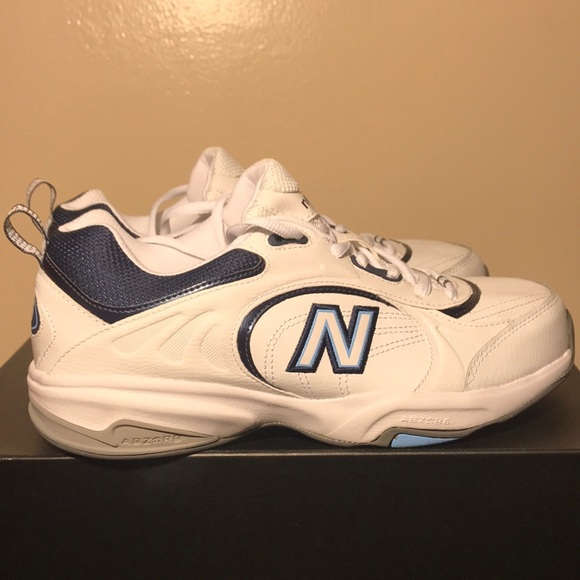 shades of uk cheap sale top design New balance 623 white navy NEW womens 9.5 wide D NWT
